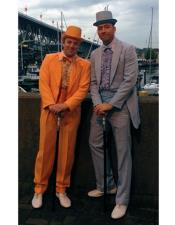Dumber and & Dumber Orange ~ Gray Suits