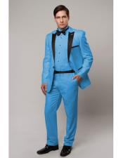 Slim Tux sky blue with