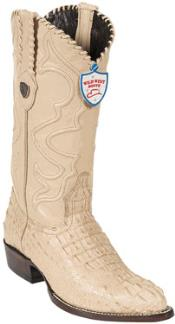 JN6739 Wild West Oryx J-Toe cai ~ Alligator skin