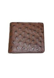 Wallet~billetera~CARTERASOstrichWalletTabac