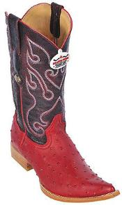 KA8847 Ostrich Print Riding red color shade Authentic Los