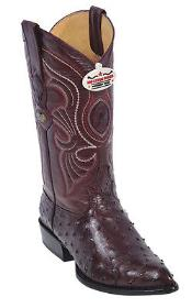 KA2356 Full Quill Ostrich Burgundy ~ Maroon ~ Wine