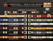 Cowboy Diamond Belts 15""