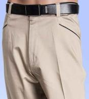 CottonOysterFlatFrontPants