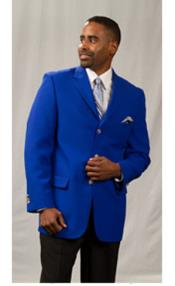 RM1541 Pacelli Jackson 3 Button Style Classic royal blue