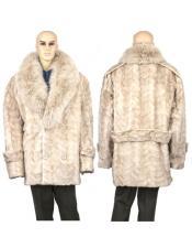 Mens Fur Pearl Genuine
