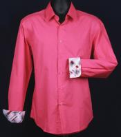 KA5503 Fancy Slim narrow Style Fit Dress Shirt -