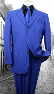 WP3977 Superior Fabric 120S G-Royal Solid Color Suit