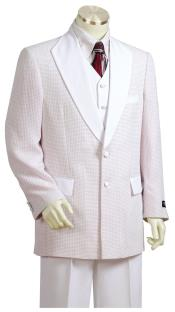 mens Polka Dots Shawl Lapel