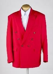 MUZ762TA red color shade Double Breasted Blazer Online Sale