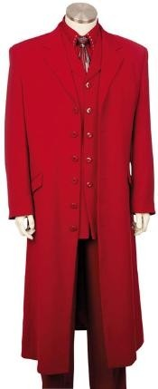 HJ4782 red color shade Urban attire Styled Suit with