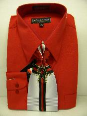 red color shade Dress Shirt