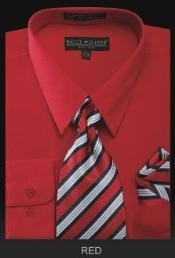 Premium Tie Red Shirt