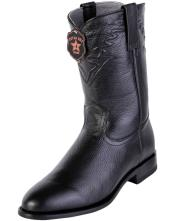JSM-4116 Mens Handcrafted Los Altos Roper Toe Style Genuine