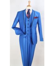 GD1700 Mens Royal Blue Suit For Men Perfect