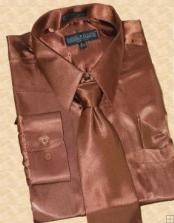 brown color shade Dress