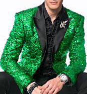 mens Sequin paisley Dinner Jacket