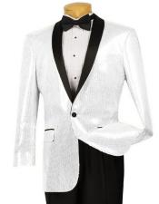 PRT_SQ Mens Black Lapel Sport Coat Blazer Tuxedo Dinner