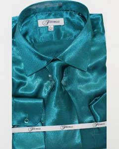 Fer_SH1 Shiny Luxurious Shirt