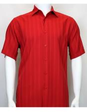 Bassiri red Short Sleeve