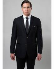 Mens 2 Button Notch Lapel