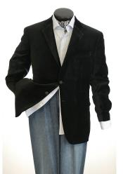 SM5191 Big And Tall Mens Black Blazers Clearance Cheap