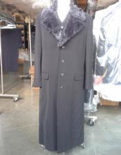 Black Vested Maxi Coat