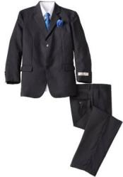 SM4818 Boys Black 5 Piece Husky Boys And Men