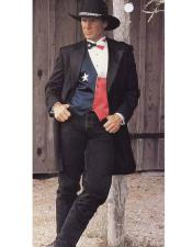 GD1551 Mens Western Dark Brown Suit & Tuxedo