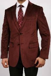 KA1153 Burgundy ~ Maroon ~ Wine Color Luxurious Velvet