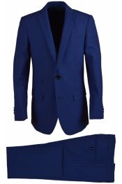 SM4816 Husky Wool Blend Cobalt Boys Dress Formal Boys