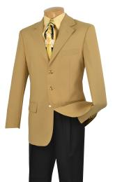 VR6822 Single Breasted Poplin Blazer ~ Suit Jacket Online