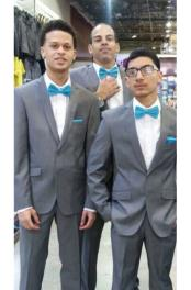 Groom & Groomsmen Medium Grey