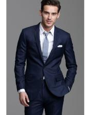 CH1761 Mens navy suit grey tie package deal 2