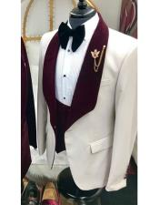 Product#GD1454MenswearBurgundyTuxedo