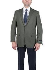 Men's Classic Olive 2 Button