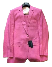 JSM-6340 Mens Two Buttons 100% Mens 2 Piece Linen