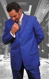 Mens Colorful Festive Royal Blue Men