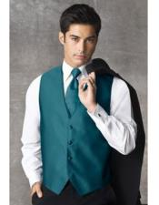 JSM-5098 Teal Blue Tuxedo For Men