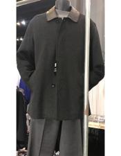 Mens Wool Car coat