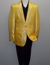 Single-Breasted-Yellow-Color-Blazer