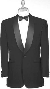 Liquid Jet Black Dinner Jacket