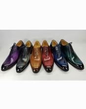 JSM-5888 Mens Luxury Leather Polished Lace Up Style 6