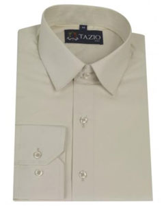 VF8452 Dress Shirt Slim narrow Style Fit Cream