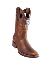 JSM-5300 Mens Handmade Wild West Genuine Rage Cowboy Leather