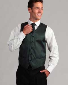 PN-C46 Teal 4-Piece Vest Set