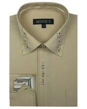 Mens 3 Button Collar Fashion