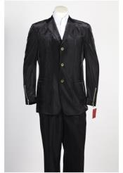 JSM-245 Mens 3 Button Single Breasted Suit