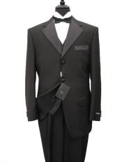 OKF355 premier quality italian fabric Vested Tuxedo Superior Fabric