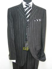 YBB547 Celebrity Jet Liquid Jet Black Pinstripe Superior Fabric
